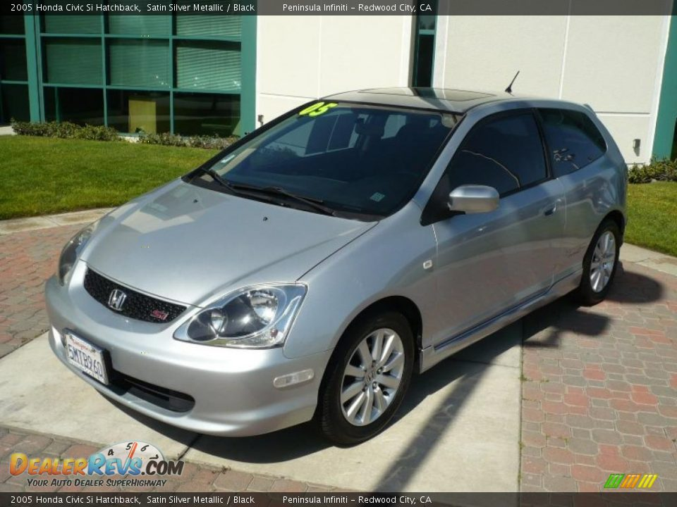 2005 honda civic si hatchback satin silver metallic. Black Bedroom Furniture Sets. Home Design Ideas
