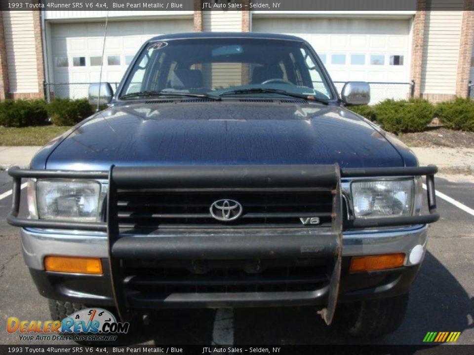 1993 Toyota 4runner Sr5 V6 4x4 Blue Pearl Metallic Blue