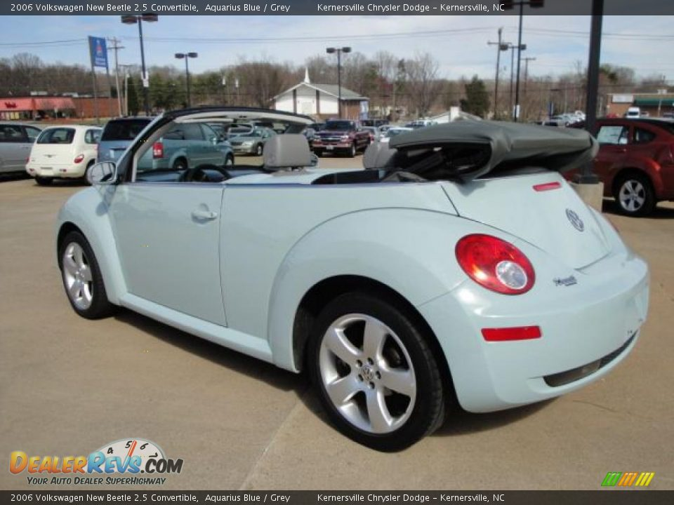 2006 Volkswagen New Beetle 2 5 Convertible Aquarius Blue