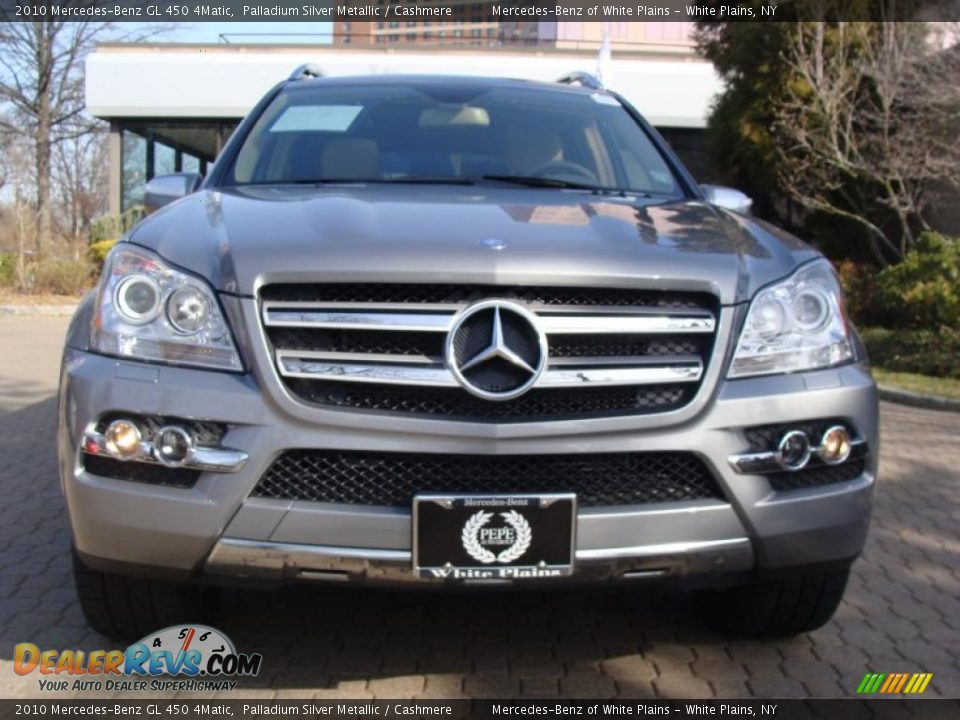 2010 mercedes benz gl 450 4matic palladium silver metallic cashmere photo 2. Black Bedroom Furniture Sets. Home Design Ideas