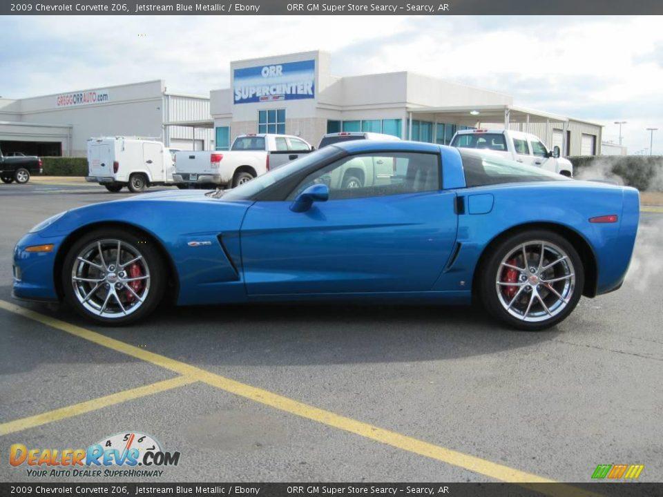 Jetstream Blue Corvette >> 2009 Chevrolet Corvette Z06 Jetstream Blue Metallic / Ebony Photo #4 | DealerRevs.com