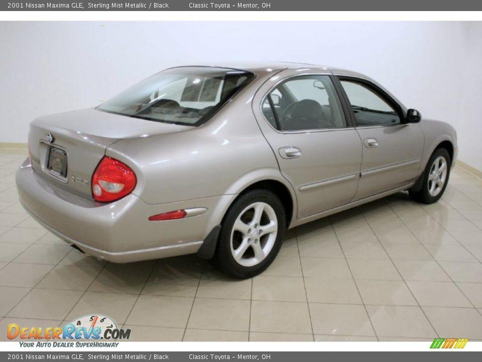 2001 Nissan Maxima GLE Sterling Mist Metallic / Black Photo #7 ...