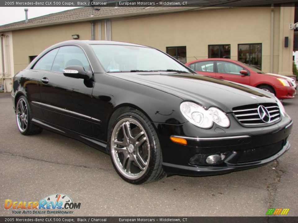 2005 mercedes benz clk 500 coupe black charcoal photo 6 for Mercedes benz coupe 2005