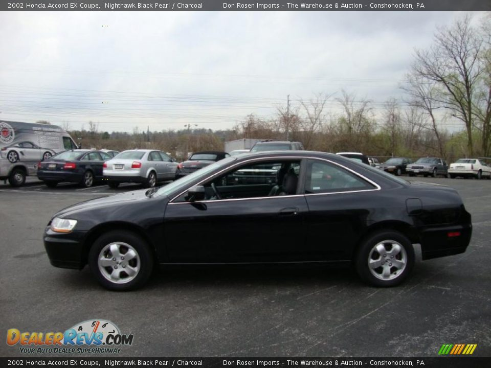 2002 honda accord ex coupe nighthawk black pearl charcoal photo 10. Black Bedroom Furniture Sets. Home Design Ideas