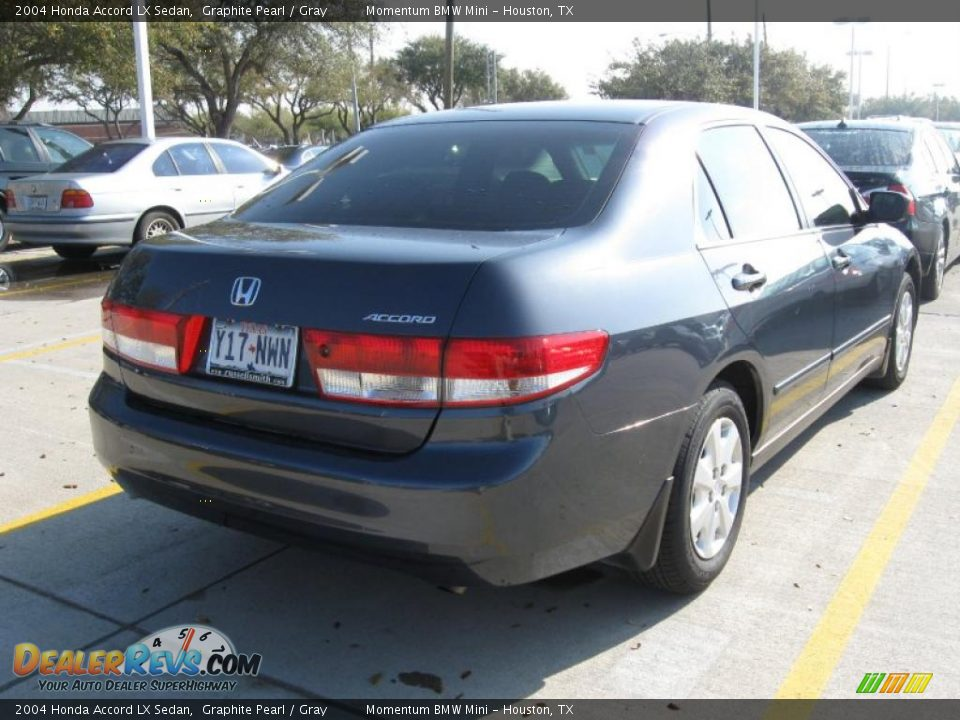 2004 honda accord lx sedan graphite pearl gray photo 6