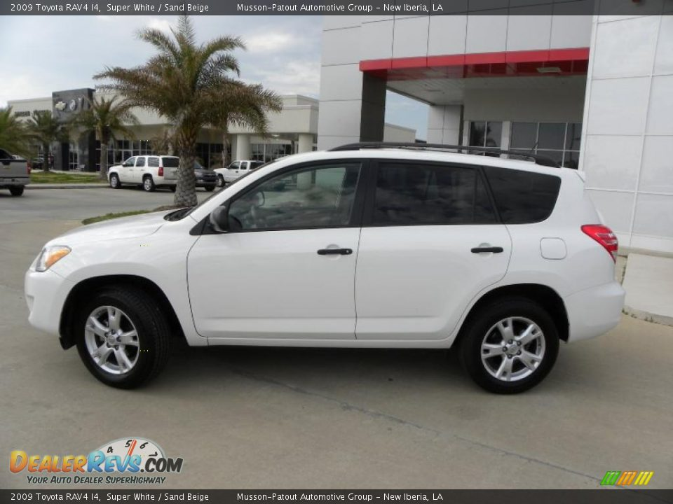 2009 Toyota Rav4 I4 Super White Sand Beige Photo 2