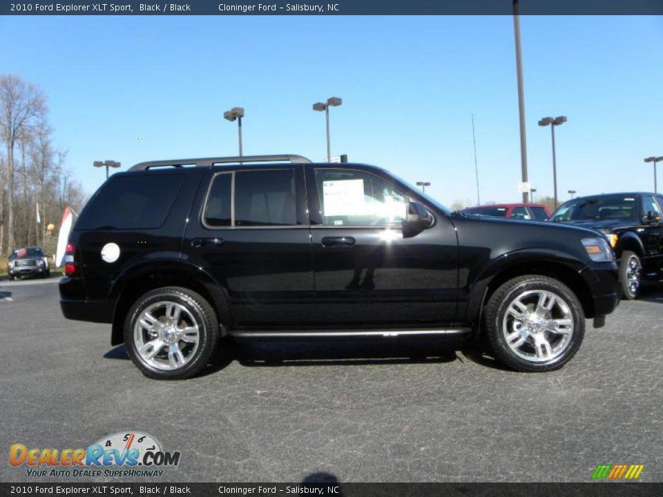 2010 Ford Explorer Xlt Sport Black Black Photo 2