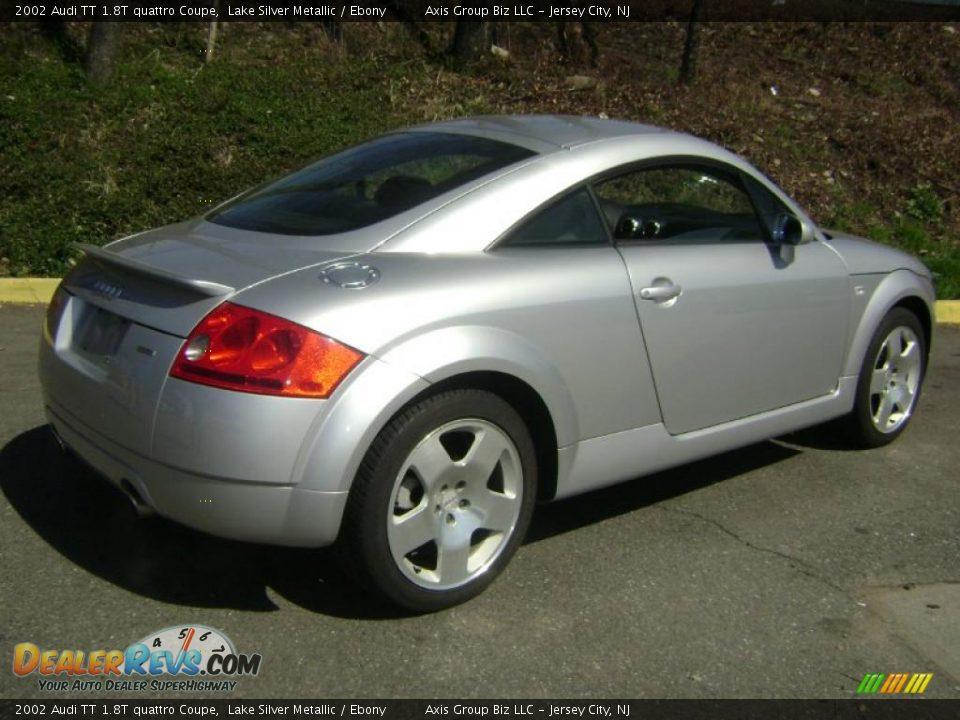 2002 Audi Tt 1 8t Quattro Coupe Lake Silver Metallic