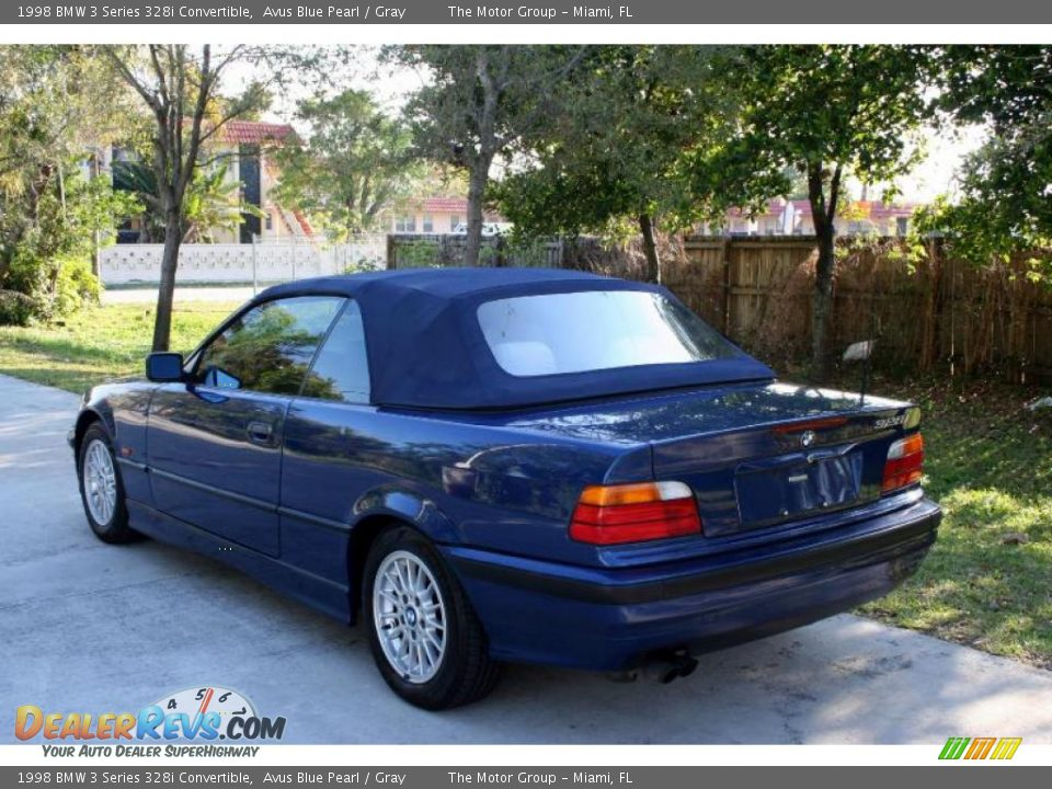 1998 Bmw 3 Series 328i Convertible Avus Blue Pearl Gray
