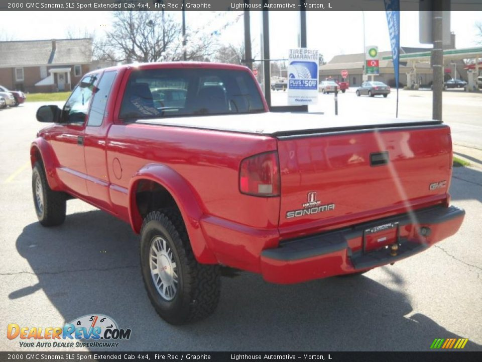 2000 gmc sonoma sls sport extended cab 4x4 fire red graphite photo 5. Black Bedroom Furniture Sets. Home Design Ideas