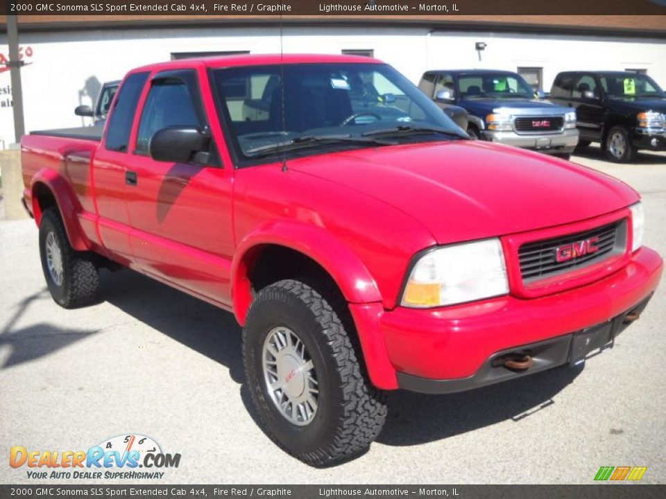 2000 gmc sonoma sls sport extended cab 4x4 fire red graphite photo 6. Black Bedroom Furniture Sets. Home Design Ideas
