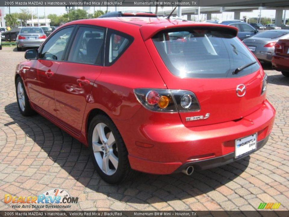 2005 mazda mazda3 s hatchback velocity red mica black. Black Bedroom Furniture Sets. Home Design Ideas