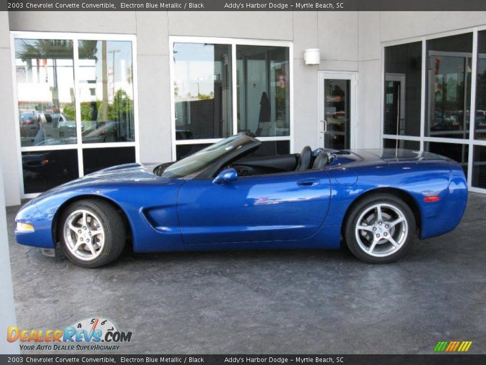 2003 Chevrolet Corvette Convertible Electron Blue Metallic