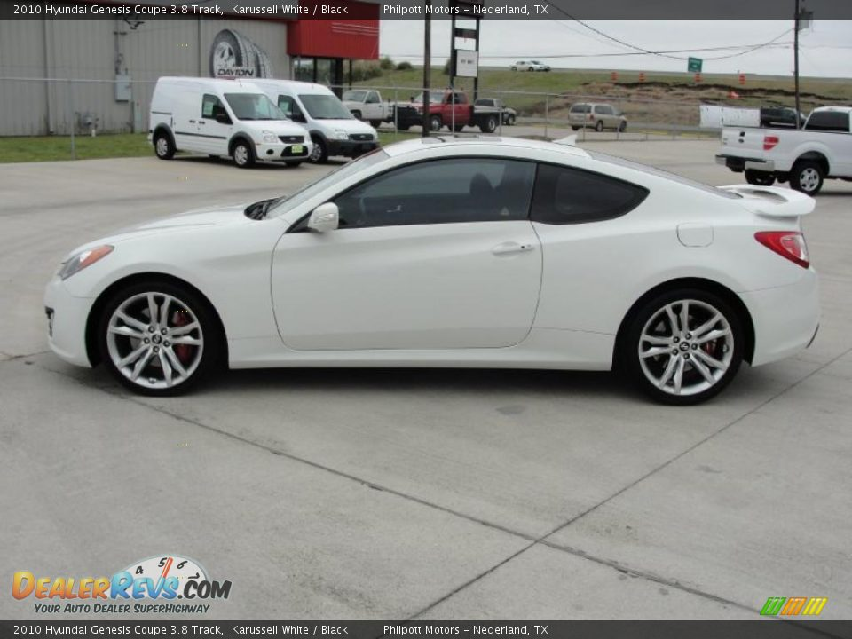 2010 hyundai genesis coupe 3 8 track karussell white black photo 6. Black Bedroom Furniture Sets. Home Design Ideas