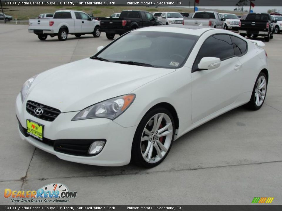 2010 hyundai genesis coupe 3 8 track karussell white black photo 7. Black Bedroom Furniture Sets. Home Design Ideas