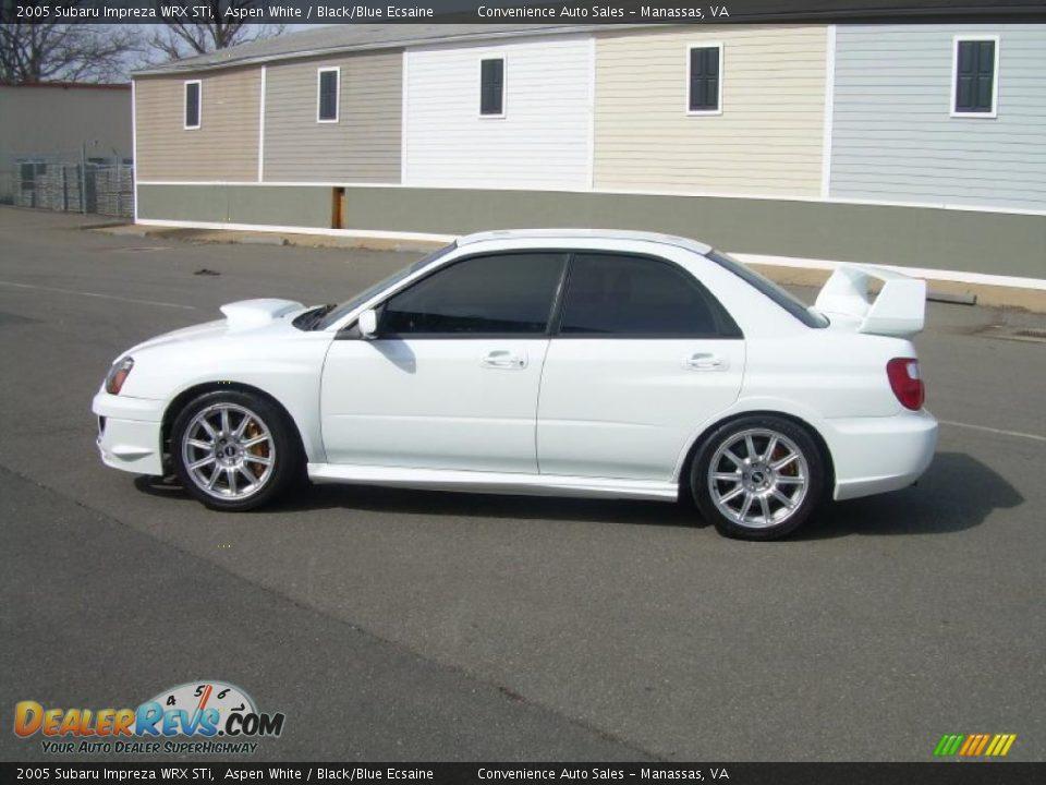 white Impreza WRX image