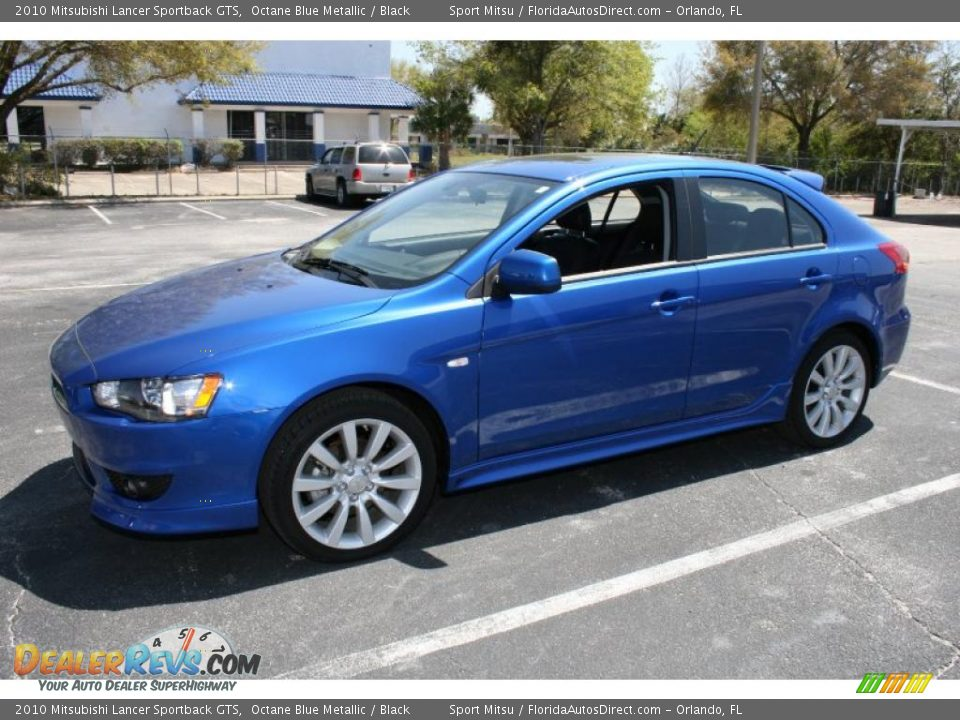 2010 mitsubishi lancer sportback gts octane blue metallic black photo 4. Black Bedroom Furniture Sets. Home Design Ideas