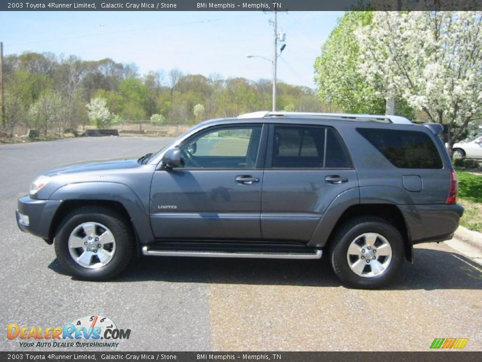 2003 Toyota 4runner Limited Galactic Gray Mica Stone