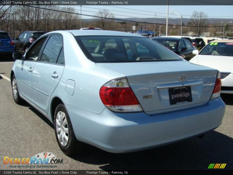2006 toyota camry le sky blue pearl stone gray photo 4. Black Bedroom Furniture Sets. Home Design Ideas