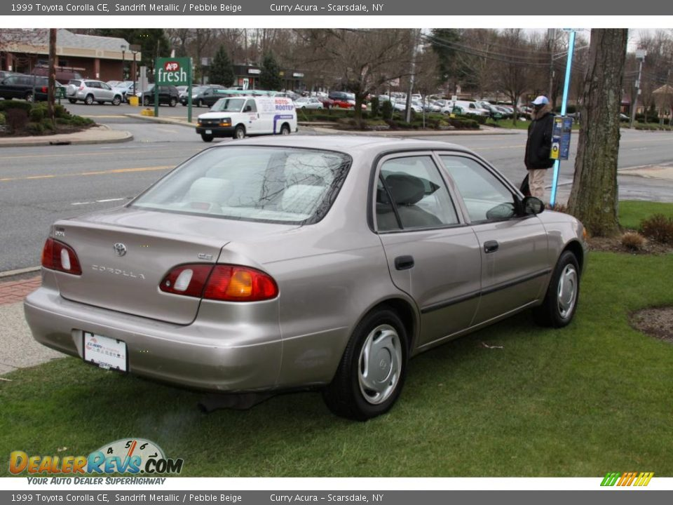 1999 toyota corolla ce sandrift metallic pebble beige. Black Bedroom Furniture Sets. Home Design Ideas