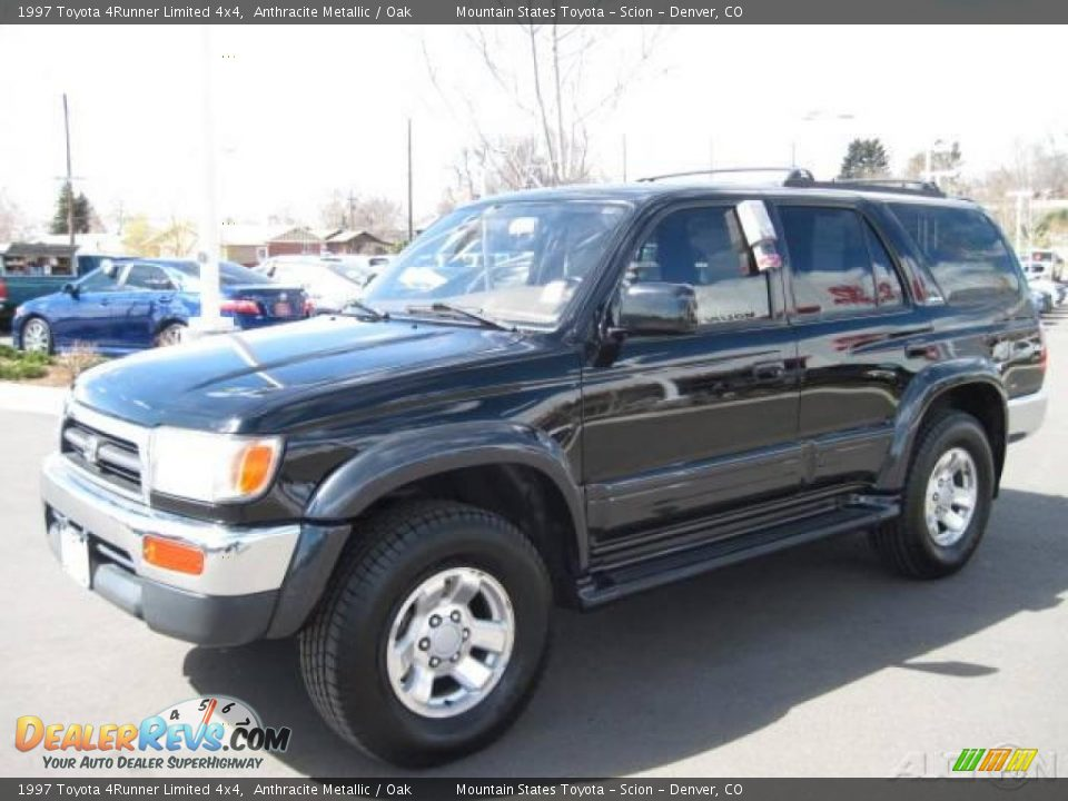 1997 toyota 4runner limited 4x4 anthracite metallic oak. Black Bedroom Furniture Sets. Home Design Ideas