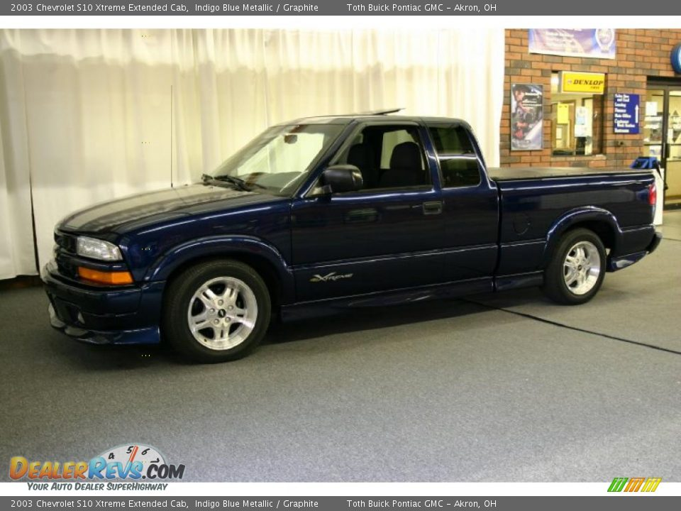 2003 chevrolet s10 xtreme extended cab indigo blue metallic graphite photo 8. Black Bedroom Furniture Sets. Home Design Ideas