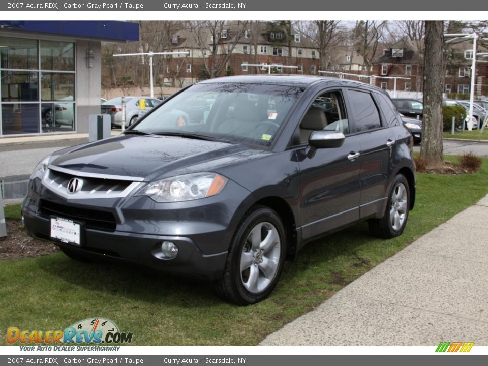 2007 Acura Rdx Carbon Gray Pearl Taupe Photo 2