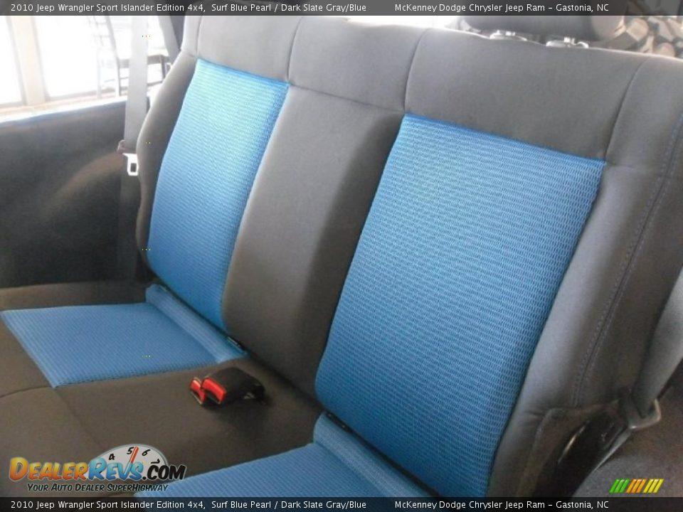 2010 Jeep Wrangler Sport Islander Edition 4x4 Surf Blue Pearl Dark Slate Gray Blue Photo 12