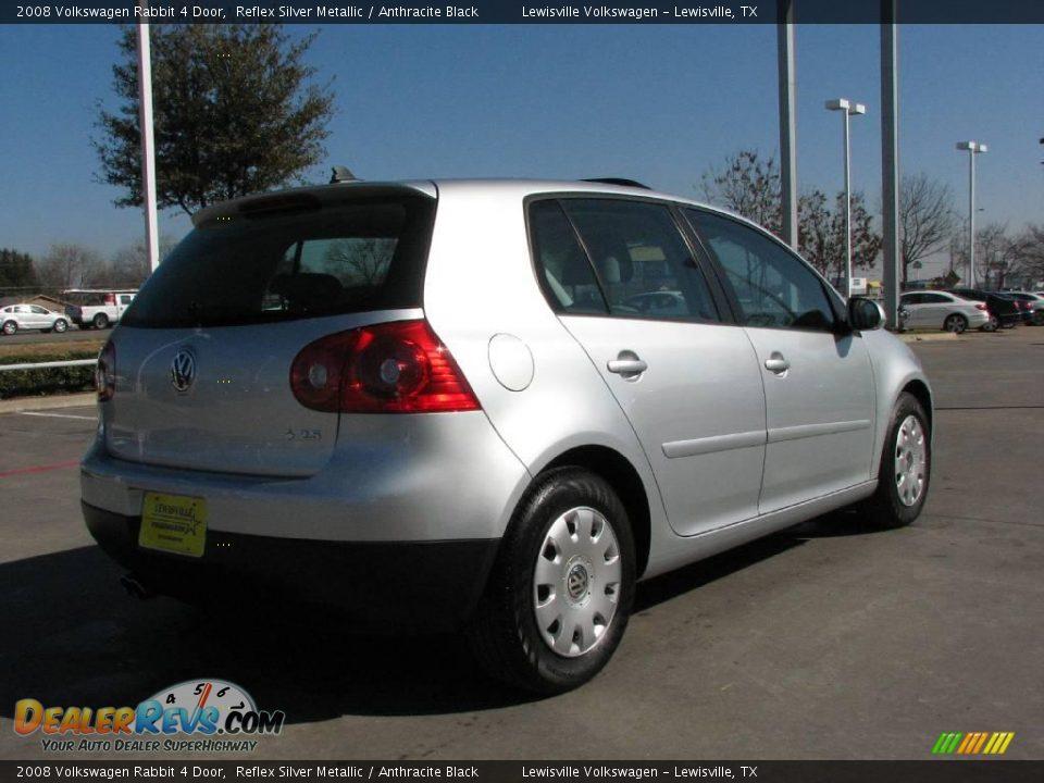 2008 Volkswagen Rabbit 4 Door Reflex Silver Metallic