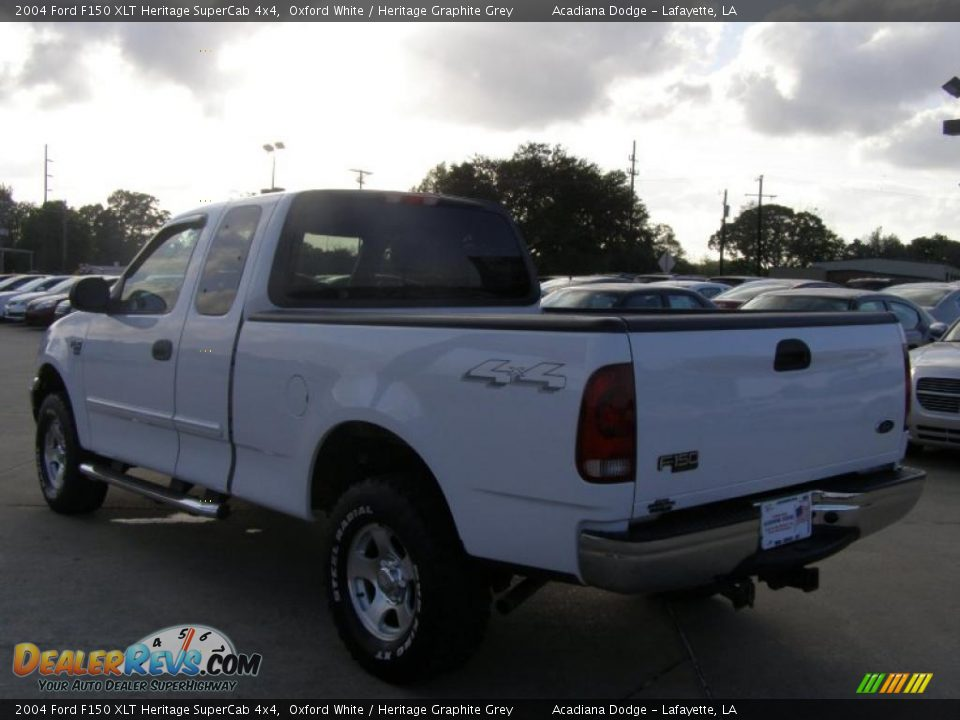 2004 ford f150 xlt heritage supercab 4x4 oxford white. Black Bedroom Furniture Sets. Home Design Ideas