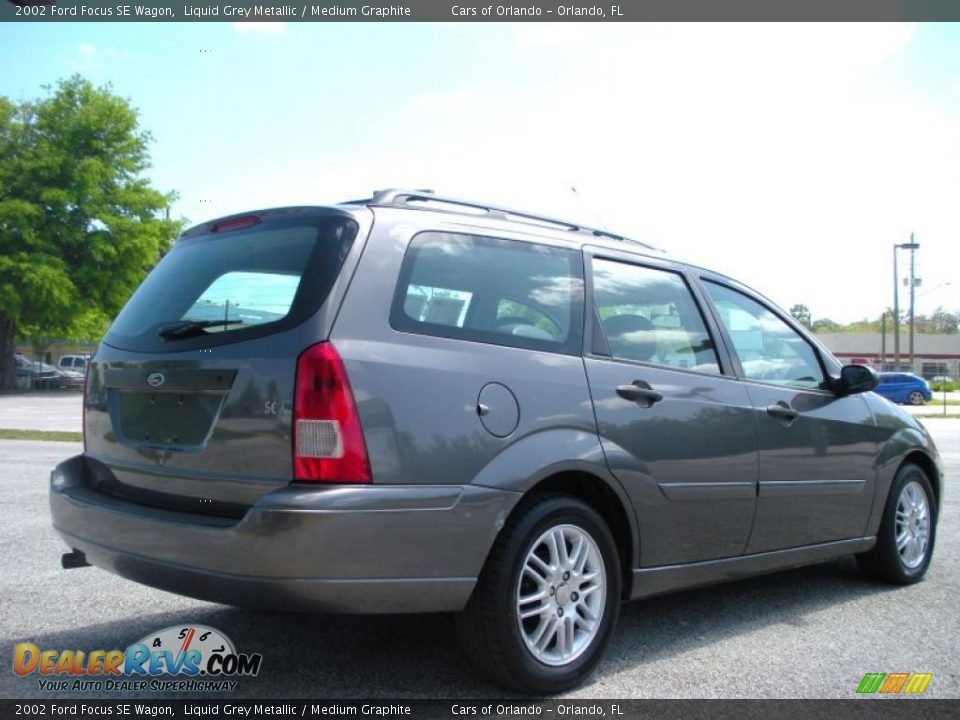 2002 ford focus se wagon liquid grey metallic medium. Black Bedroom Furniture Sets. Home Design Ideas
