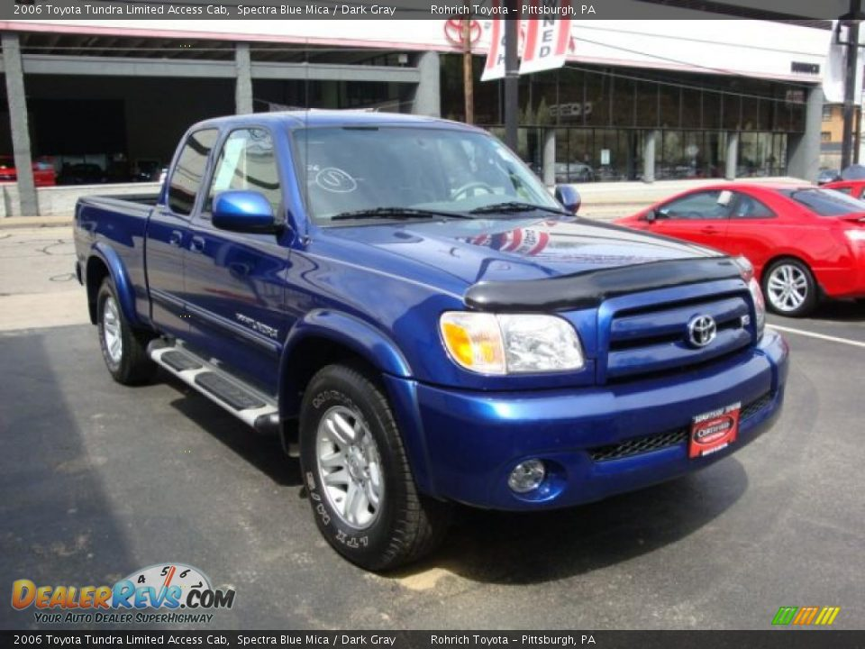 2006 Toyota Tundra Limited Access Cab Spectra Blue Mica