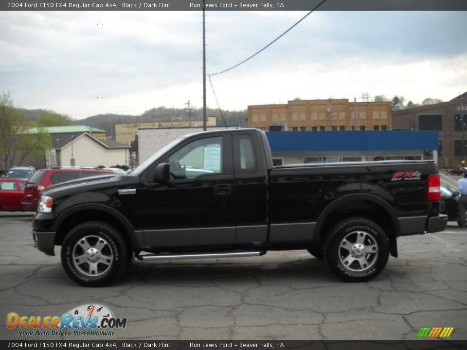 2004 ford f150 fx4 regular cab 4x4 black dark flint. Black Bedroom Furniture Sets. Home Design Ideas