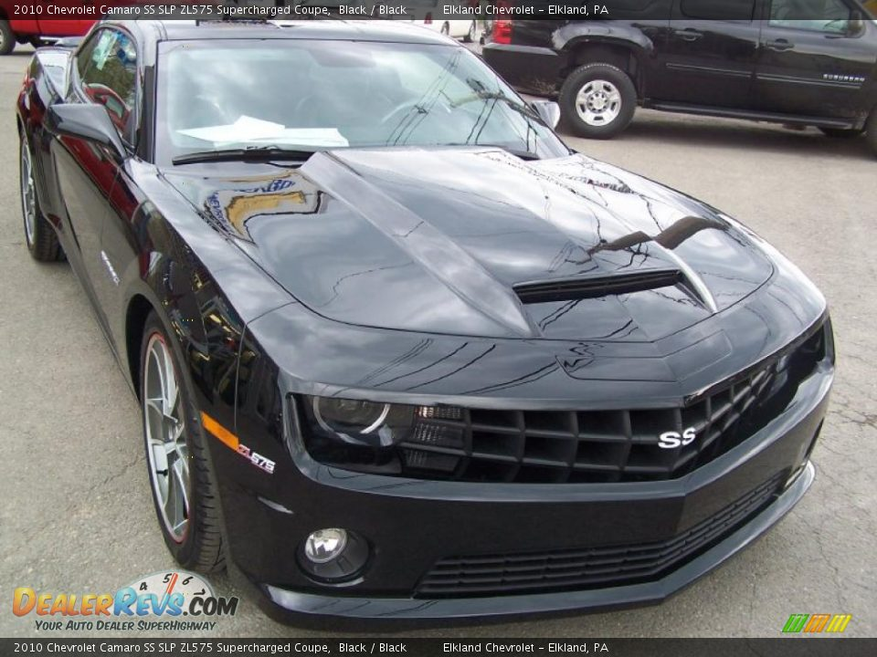 2010 Chevrolet Camaro Ss Slp Zl575 Supercharged Coupe