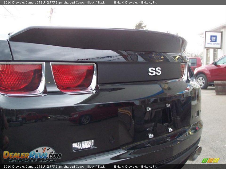 2010 Chevrolet Camaro Ss Slp Zl575 Supercharged Coupe Black Black Photo 14 Dealerrevs Com