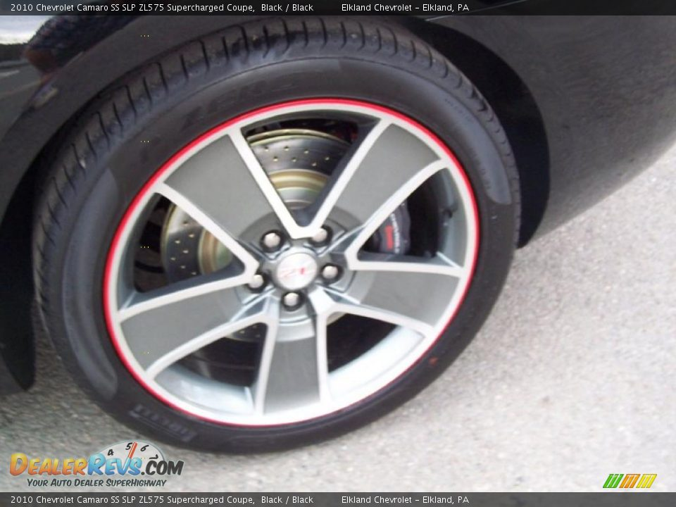 2010 Chevrolet Camaro Ss Slp Zl575 Supercharged Coupe Black Black Photo 16 Dealerrevs Com