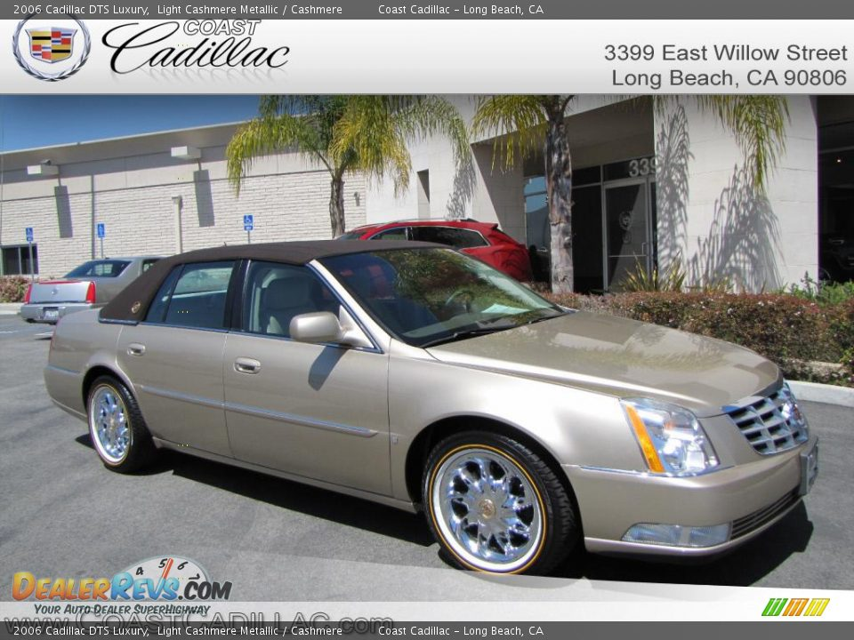 2006 cadillac dts luxury light cashmere metallic
