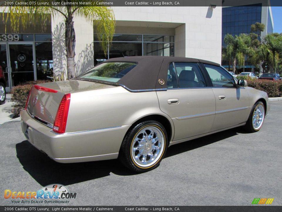 2006 Cadillac DTS Luxury Light Cashmere Metallic / Cashmere Photo #7 ...