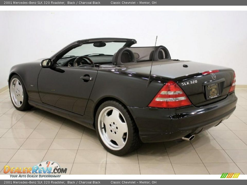 2001 mercedes benz slk 320 roadster black charcoal black for 2001 mercedes benz slk320