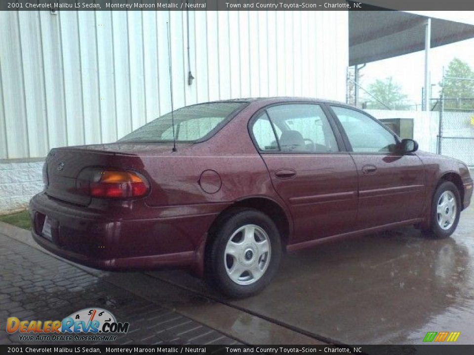 2001 chevrolet malibu ls sedan monterey maroon metallic. Black Bedroom Furniture Sets. Home Design Ideas