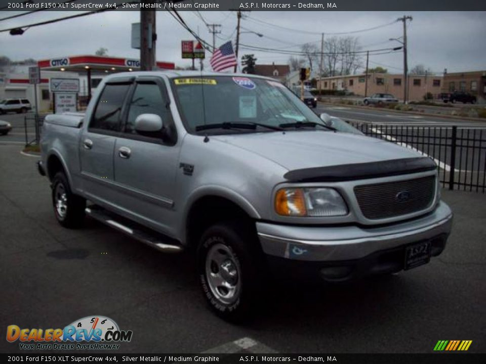 2001 ford f150 xlt supercrew 4x4 silver metallic medium graphite. Cars Review. Best American Auto & Cars Review