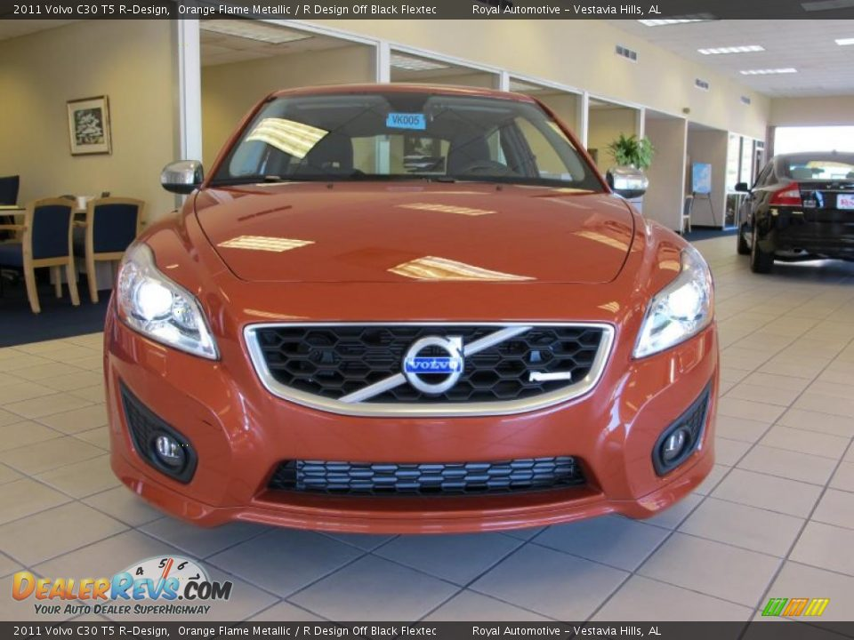 2011 Volvo C30 T5 R Design Orange Flame Metallic R