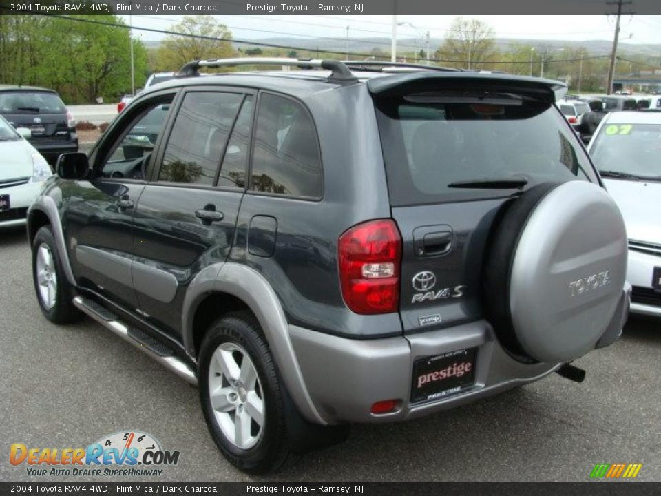 2004 Toyota Rav4 4wd Flint Mica Dark Charcoal Photo 4