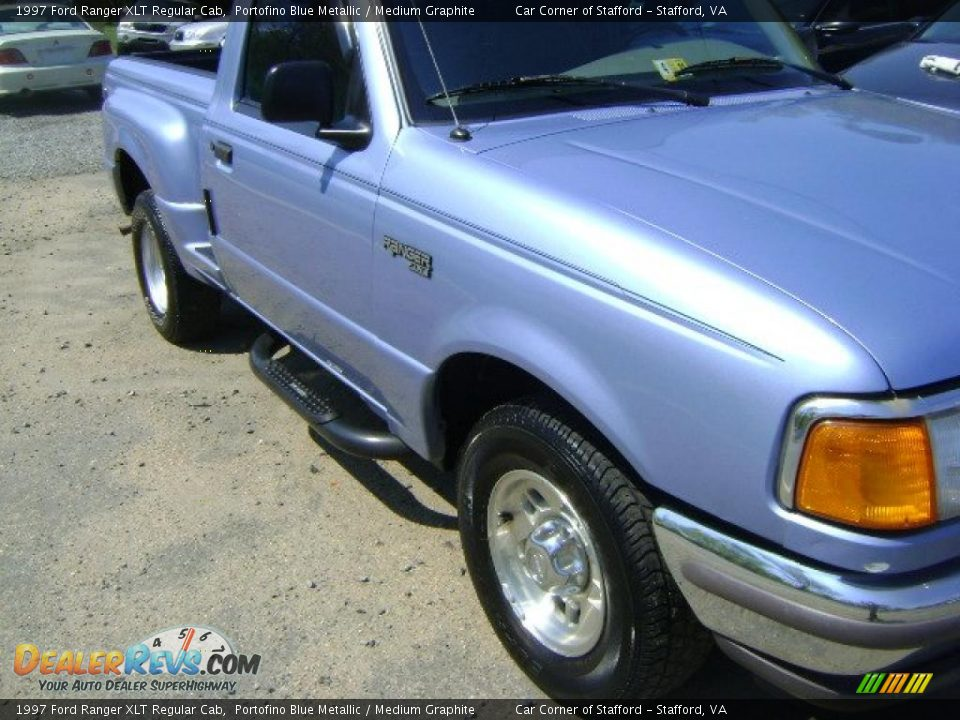 1997 ford ranger xlt regular cab portofino blue metallic medium graphite photo 6. Black Bedroom Furniture Sets. Home Design Ideas