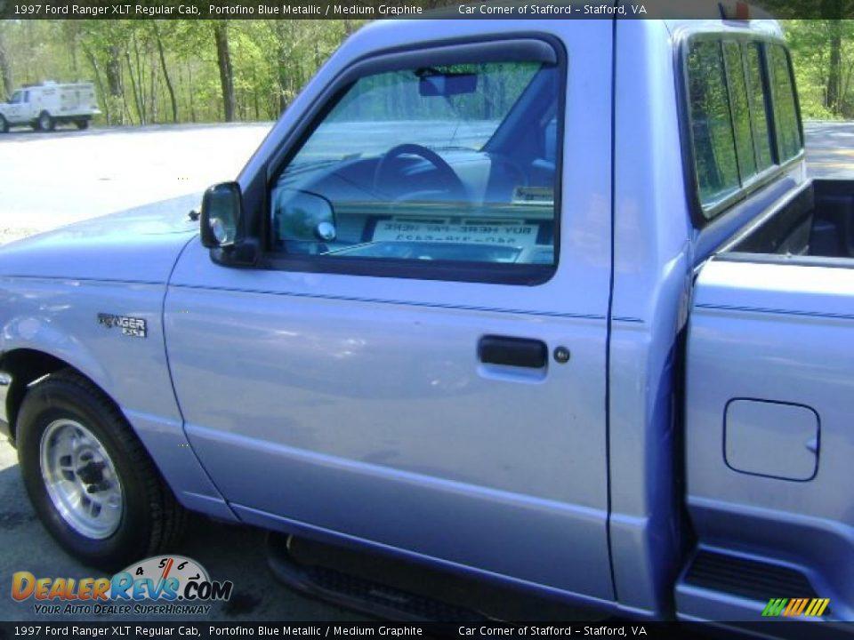1997 ford ranger xlt regular cab portofino blue metallic medium graphite photo 11. Black Bedroom Furniture Sets. Home Design Ideas