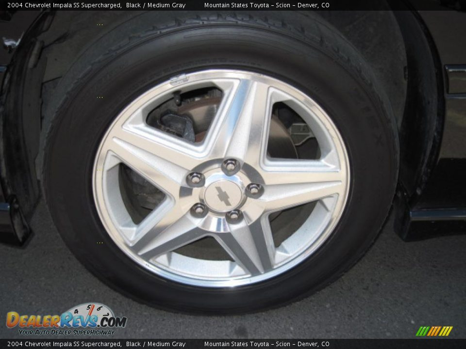 2004 chevrolet impala ss supercharged black medium gray photo 25. Black Bedroom Furniture Sets. Home Design Ideas