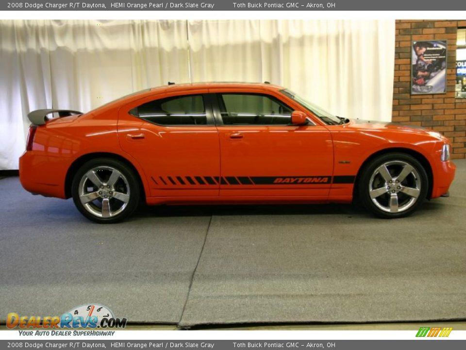 2008 Dodge Charger R T Daytona Hemi Orange Pearl Dark