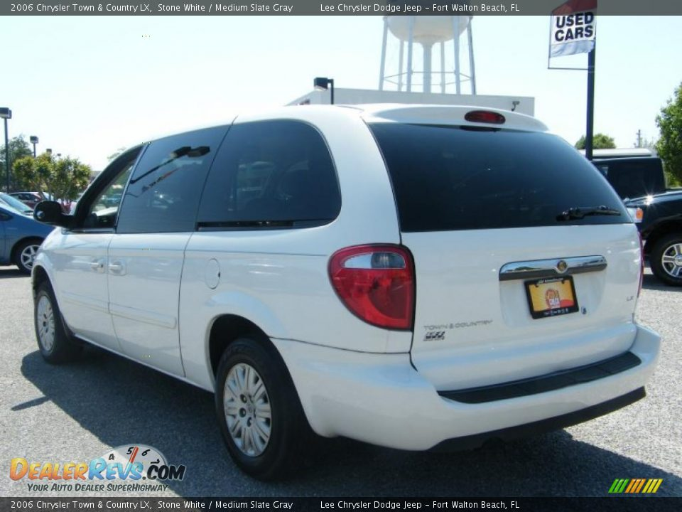2006 chrysler town country lx stone white medium slate for Stone s town country motors