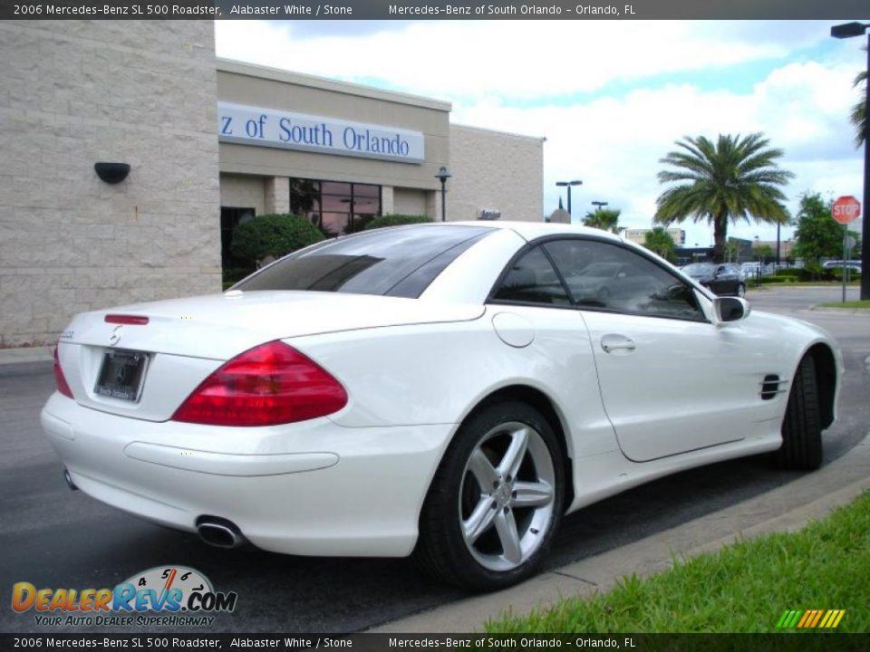2006 mercedes benz sl 500 roadster alabaster white stone photo 6. Black Bedroom Furniture Sets. Home Design Ideas