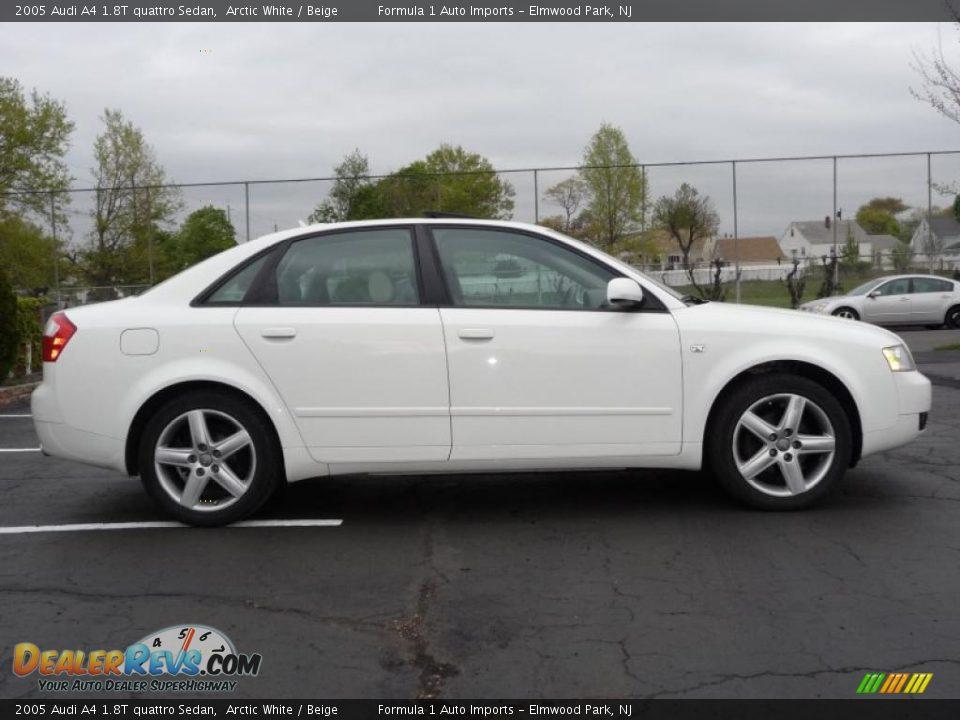 2005 audi a4 1 8t quattro sedan arctic white beige photo 11. Black Bedroom Furniture Sets. Home Design Ideas
